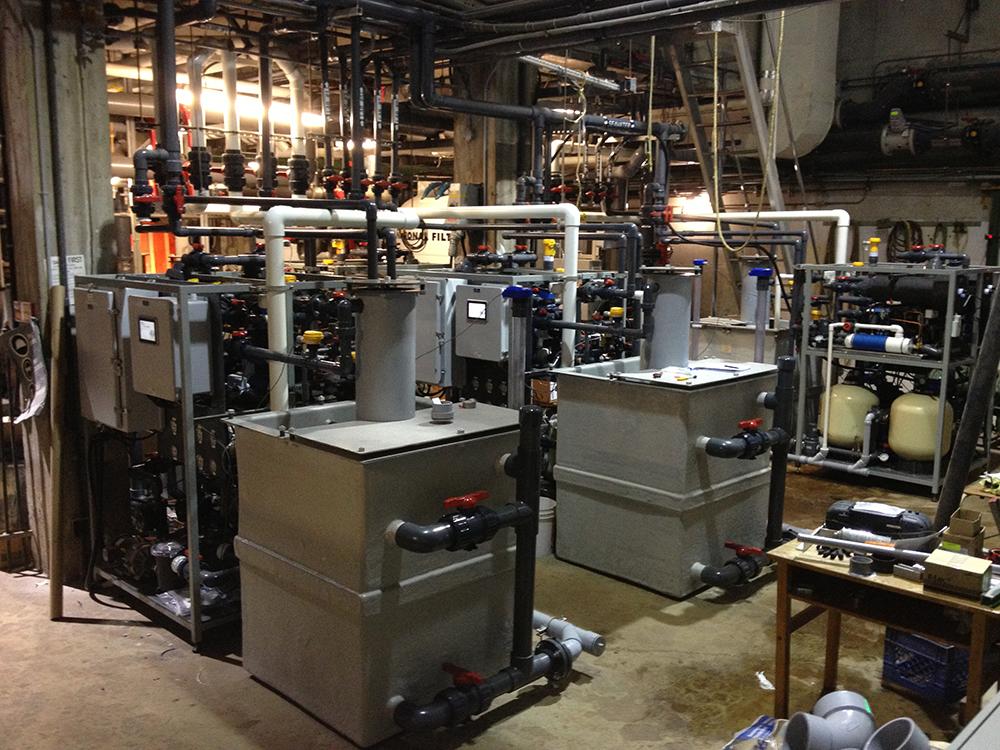 Aquatron Laboratory Marine Laboratory Retrofit Aqualogic
