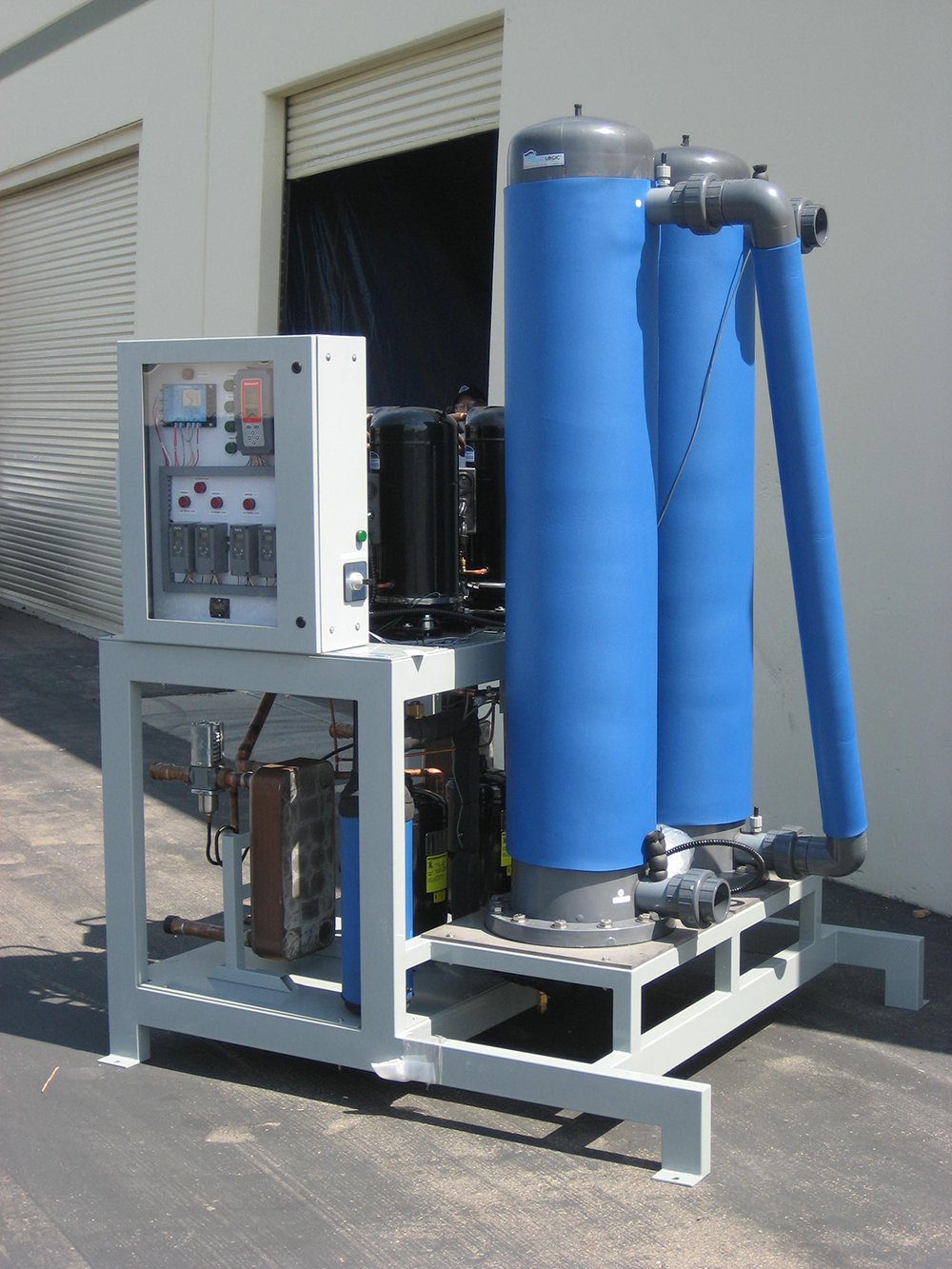Multi Temp Water Cooled Chiller Aqualogic