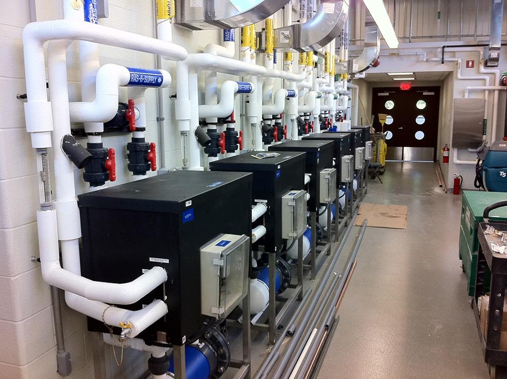 Multi Temp Water Cooled Chiller Aqualogic