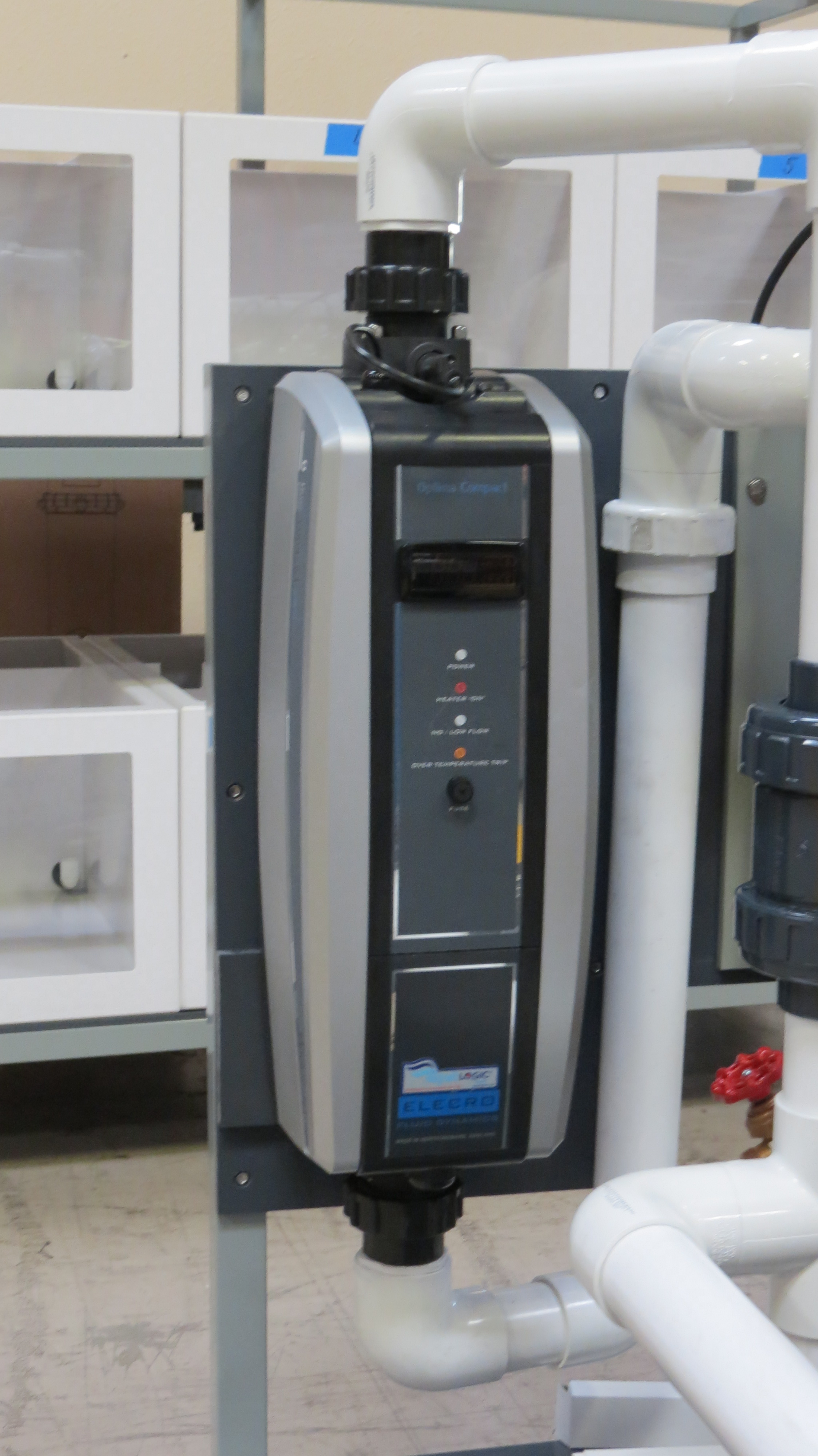 Optima Compact Plus 6kw 18kw Aqualogic