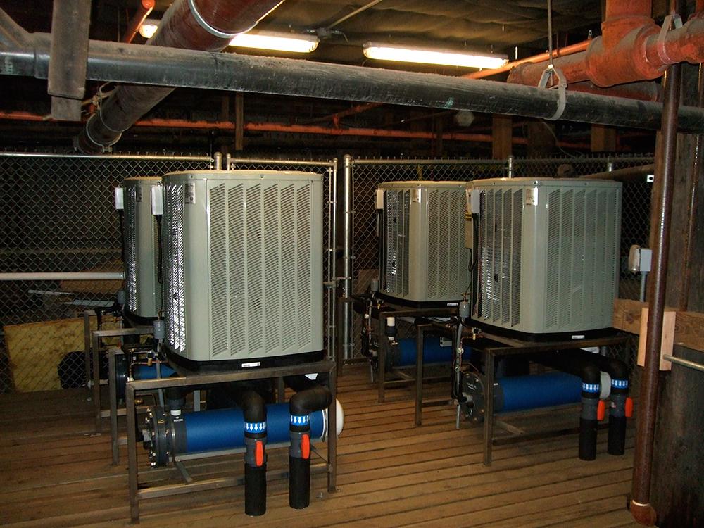 Titan Air Cooled Heat Pump Aqualogic