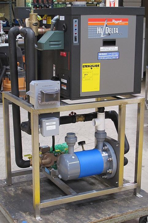Heating Aqualogic
